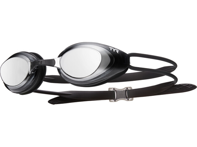TYR Blackhawk Racing Polarized Goggles Heren, silver/black